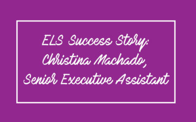 ELS Success Story: Christina Machado