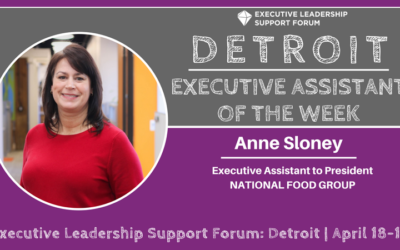 Executive Assistant of the Week: Anne Sloney