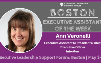 Executive Assistant of the Week: Ann Veronelli