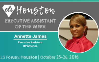 Executive Assistant of the Week: Annette James