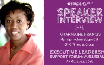 Speaker Interview – Charmaine Francis