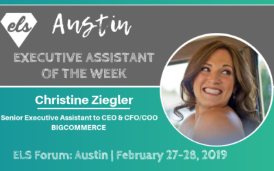 Executive Assistant of the Week: Christine Ziegler
