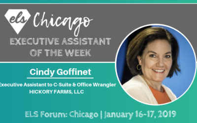 Executive Assistant of the Week: Cindy Goffinet