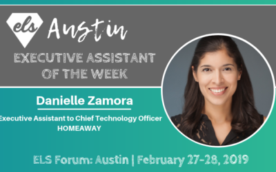 Executive Assistant of the Week: Danielle Zamora