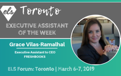 Executive Assistant of the Week: Grace Vilas-Ramalhal