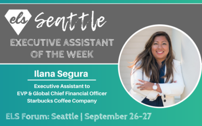Executive Assistant of the Week: Ilana Segura