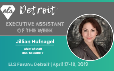 Executive Assistant of the Week: Detroit