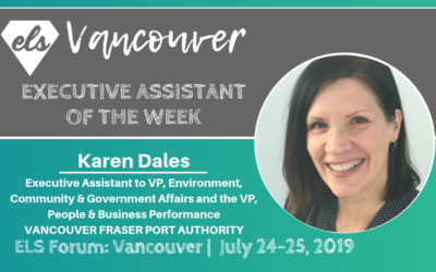 Executive Assistant of the Week: Vancouver