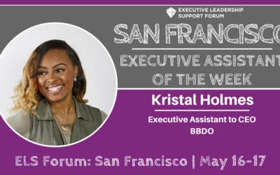 Executive Assistant of the Week: Kristal Holmes