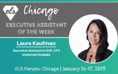 Executive Assistant of the Week: Laura Kaufman