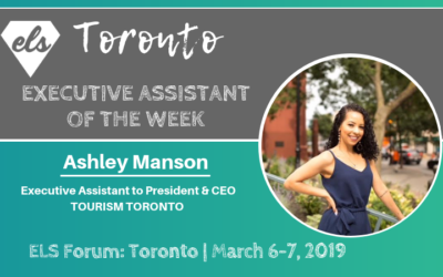 Executive Assistant of the Week: Ashley Manson