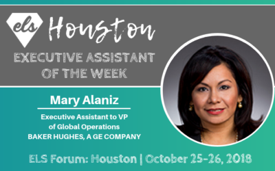 Executive Assistant of the Week: Mary Alaniz