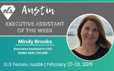 Executive Assistant of the Week: Mindy Brooks