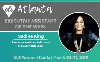 Executive Assistant of the Week: Nadine King