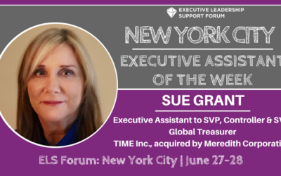 Executive Assistant of the Week: Sue Grant