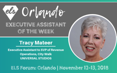 Executive Assistant of the Week: Tracy Mateer