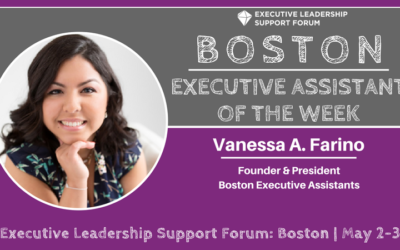 Executive Assistant of the Week: Vanessa Farino